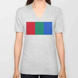 Flag of Mars - High quality authentic version Unisex V-Neck