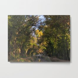TREE VIGNETTE Metal Print