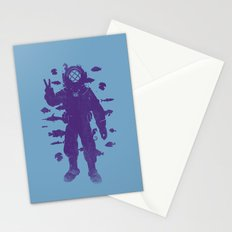 peace under water Stationery Cards