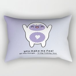 You Make Me Feel All The Things Rectangular Pillow