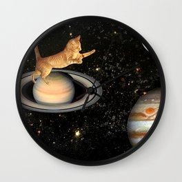 Cat.In.Space. Wall Clock