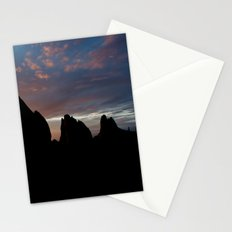 Sunrise Silhouette Stationery Cards
