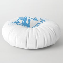Its Just A Hill Get Over It wb Floor Pillow