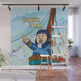 Capitán Ahab Wall Mural