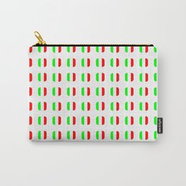 Flag of Italy - with soft square Carry-All Pouch