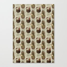 Pineapple Pina Coladas Canvas Print