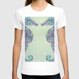The Abstract Seahorses T-shirt