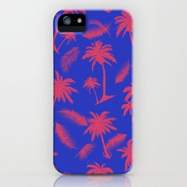 Tropical leaf pattern 15.1 iPhone Case