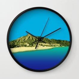 Marbella Fluoro Wall Clock