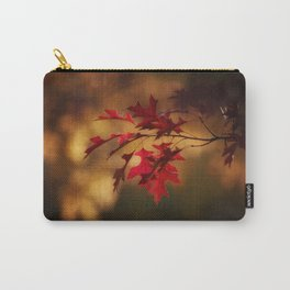 Red Maple Leaf Autumn Colors Photography Carry-All Pouch