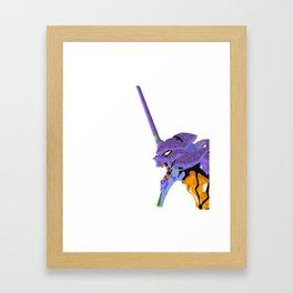 Eva-01 Framed Art Print