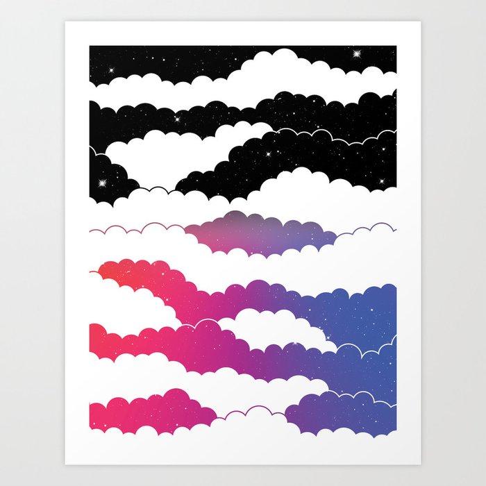 Midnight Glow Art Print