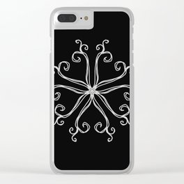 Five Pointed Star Series #10 Clear iPhone Case
