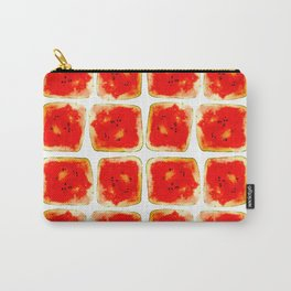 Watermelon cubism Carry-All Pouch