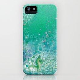 Grass Emerald iPhone Case