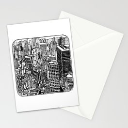 Back In The NYC Stationery Cards