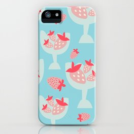 Strawberry Dessert iPhone Case