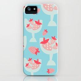 Strawberry Dessert iPhone Case