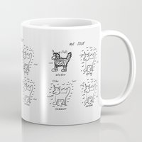 doge Mugs featuring doge by gasponce