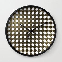 Islamic Pattern Wall Clock