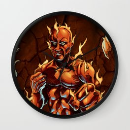 Cluster Fight Wall Clock