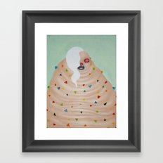 Ms. Candy Framed Art Print