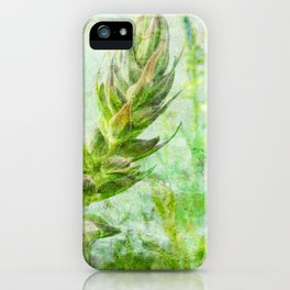 growing lupine iPhone Case