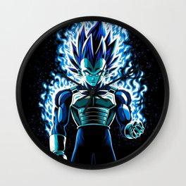 Ultra Blue God Wall Clock