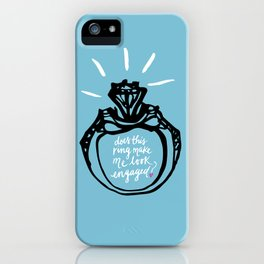 Bride-to-be iPhone Case