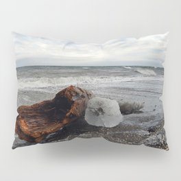 Driftwood And Ice in Spring Pillow Sham