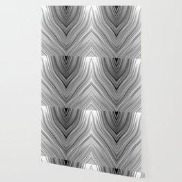 stripes wave pattern 3 bwgri Wallpaper