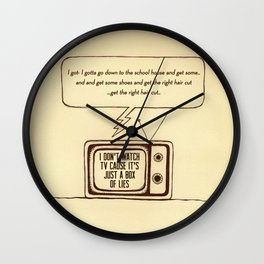 indy kidz Wall Clock