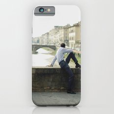Man in the bridge iPhone 6s Slim Case