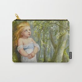 """""""His Thoughts Wavered"""" Fairy Art by Eleanor Vere Boyle Carry-All Pouch"""