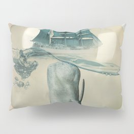 The Battle - Captain Ahab and Moby Dick Pillow Sham