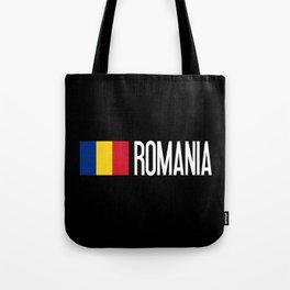 Romania: Romanian Flag & Romania Tote Bag