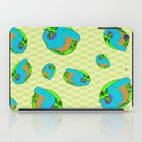 dino iPad Cases featuring Dino by R.E.L