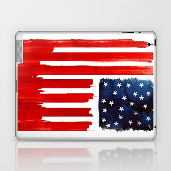 stars and buildings Laptop & iPad Skin