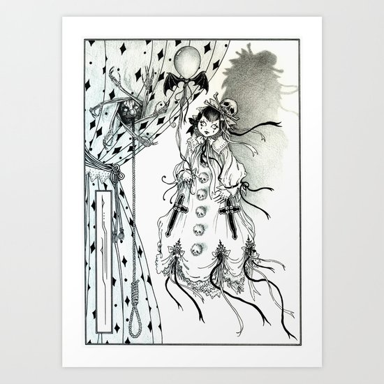 Apparitia Doll Art Print