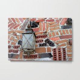 Brick Light Metal Print