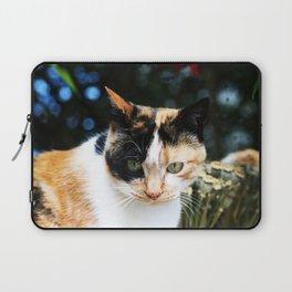 Sweet Cat Portrait Laptop Sleeve