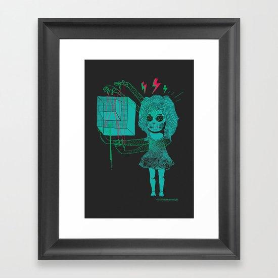 The Four-Armed Girl Framed Art Print