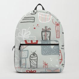 Xmas Gift Boxes Backpack