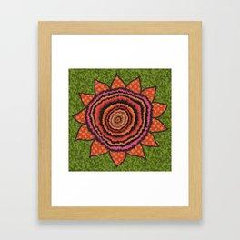 Gypsy SunFlower Framed Art Print