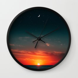 sometimes you have to escape from reality Wall Clock