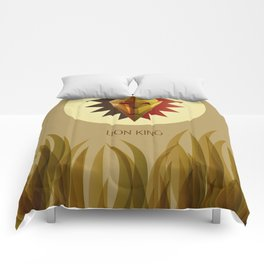The Lion King Minimal Film Poster Comforters