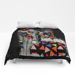 She Lives In The Pyramid Comforters