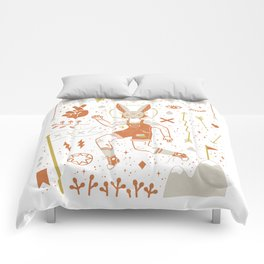 The Trickster Comforters
