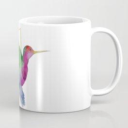 Hummingbird - Geometric I Coffee Mug