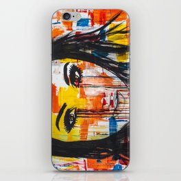 The unseen emotions of her innocence iPhone Skin
